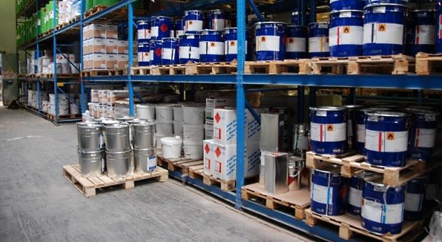 skladiščenje nevarnih in vnetljivih snovi